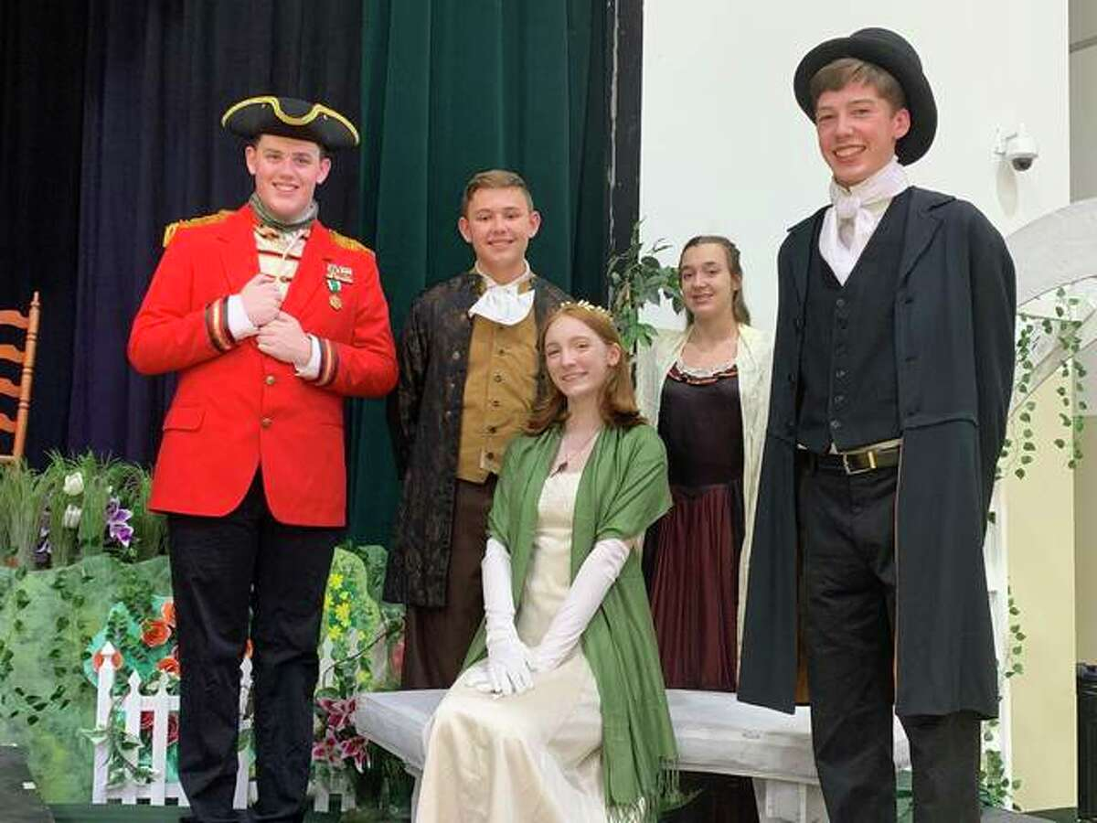 """""""Pride and Prejudice"""" will be presented Oct. 15-16 by the Theatre Department of Metro-East Lutheran High School in the Henschen Alumni Hall on Metro-East Lutheran High School's campus at 6305 Center Grove Road in Edwardsville."""