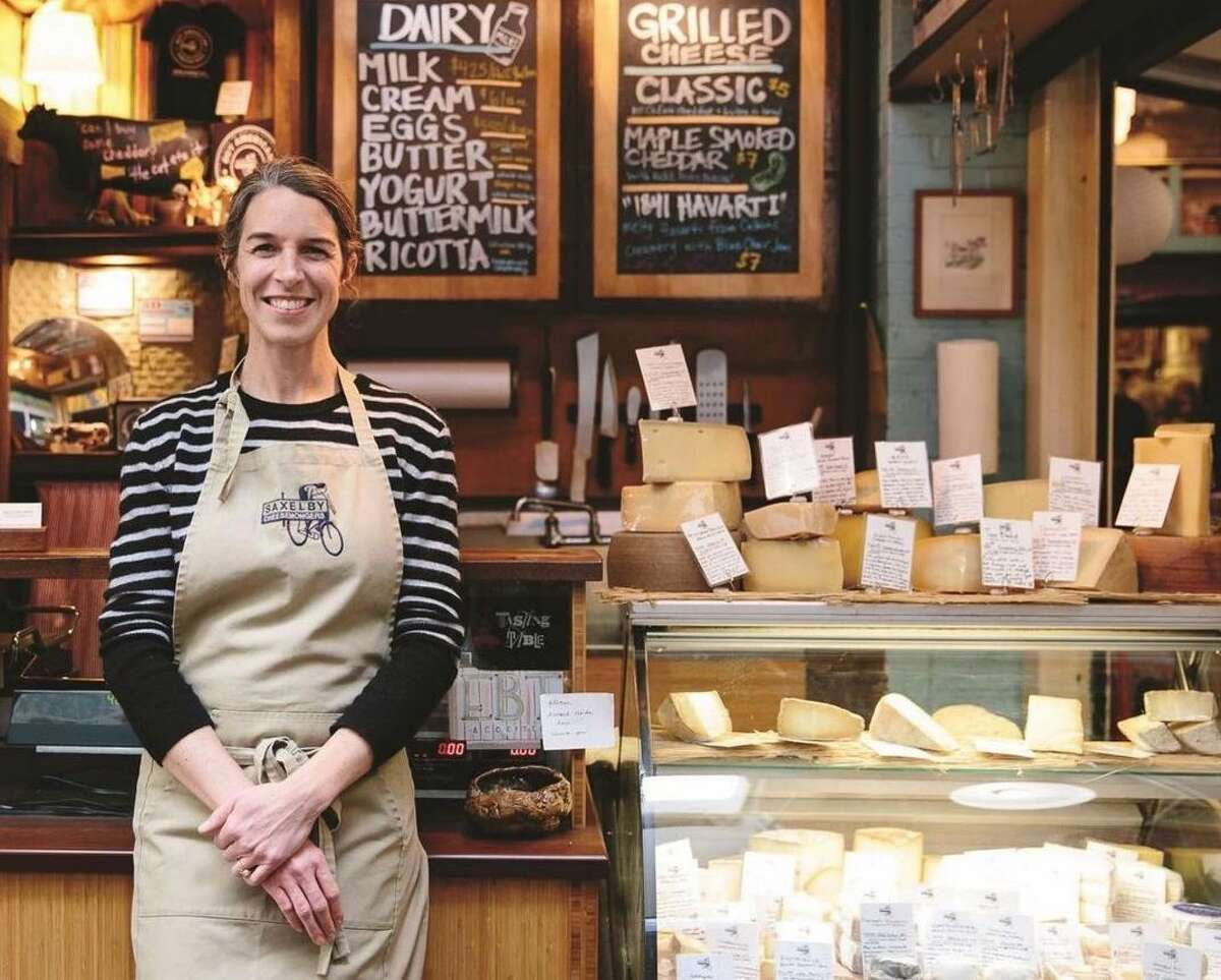 Anne Saxelby celebrated and promoted U.S. dairy farmers and cheesemakers - particularly those in the Northeast - and launched New York City's first American-only cheese shop. She passed away at the age of 40.