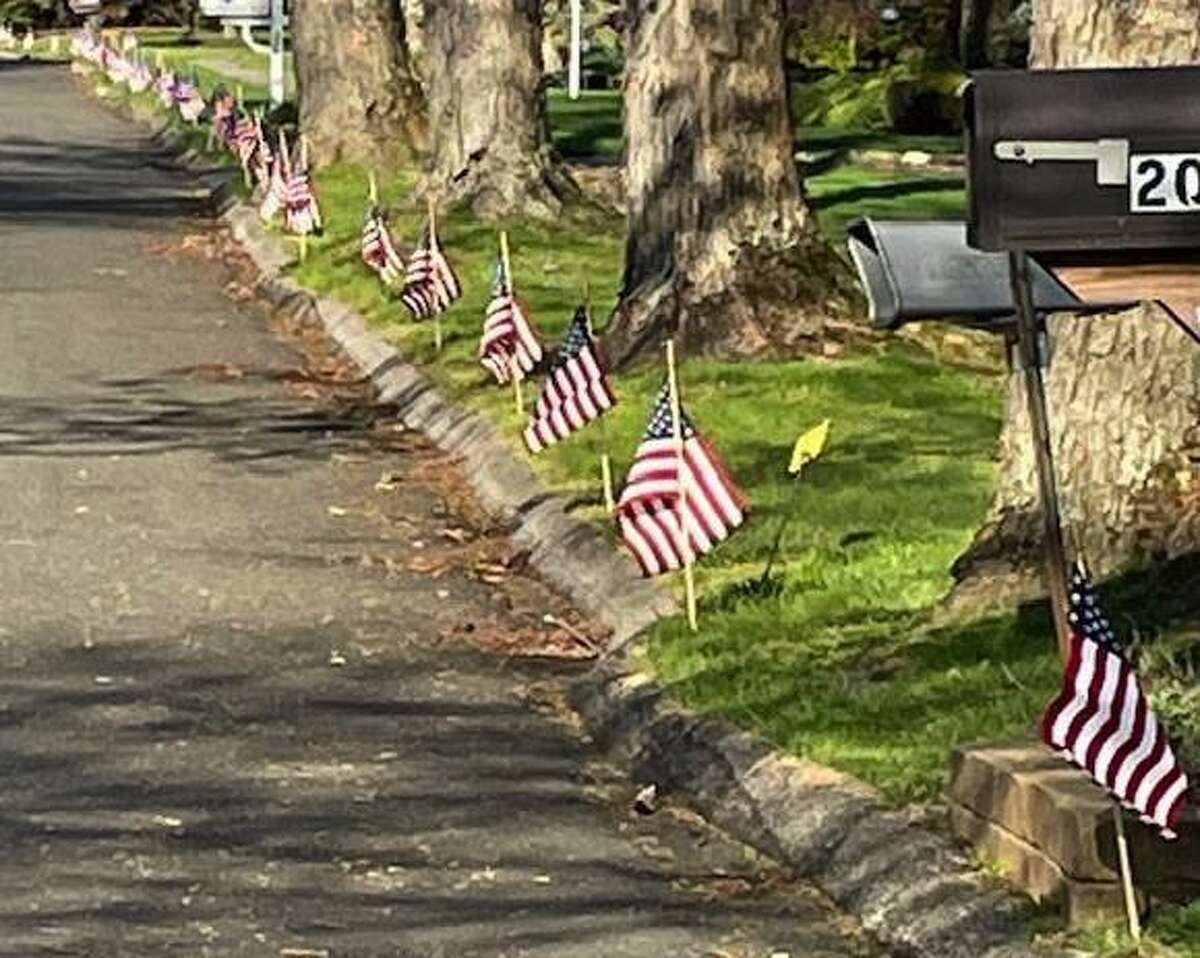 Sutter-Terlizzi American Legion Post 16 of Shelton will be lining streets and driveways with American flags as part of a program to welcome home military personnel.