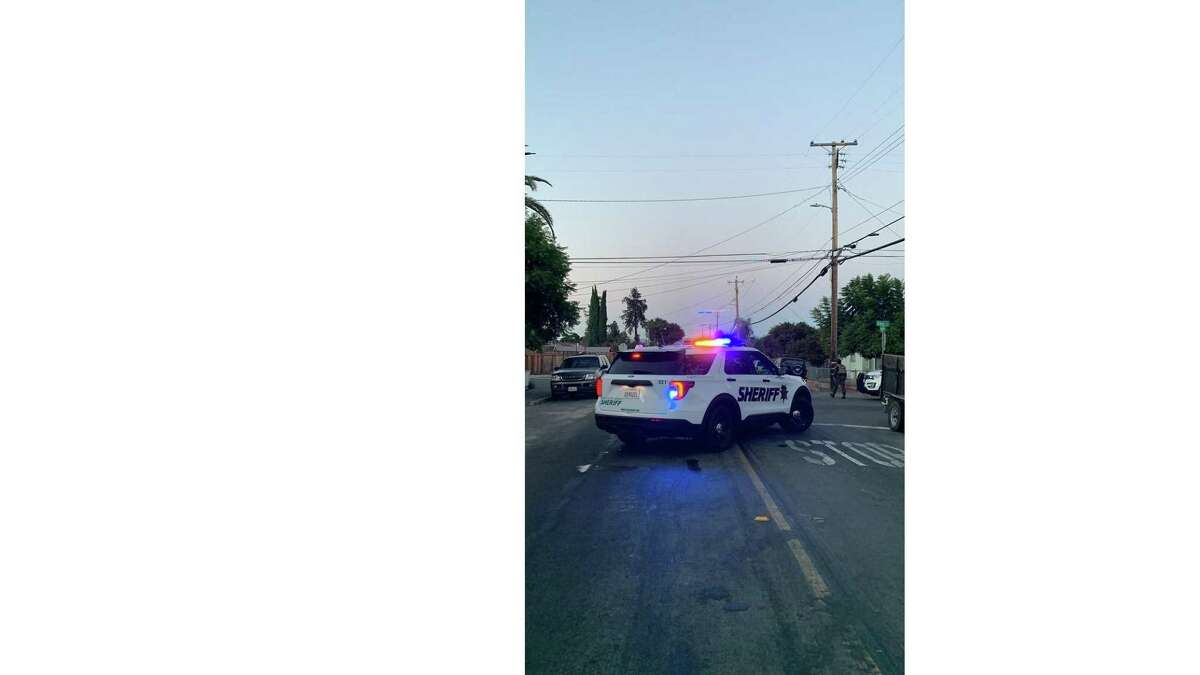 The Santa Clara County Sheriff's Office said law enforcement officials were responding to a person who had barricaded themselves inside a dwelling on the 3000 block of East Hills Drive in San Jose.