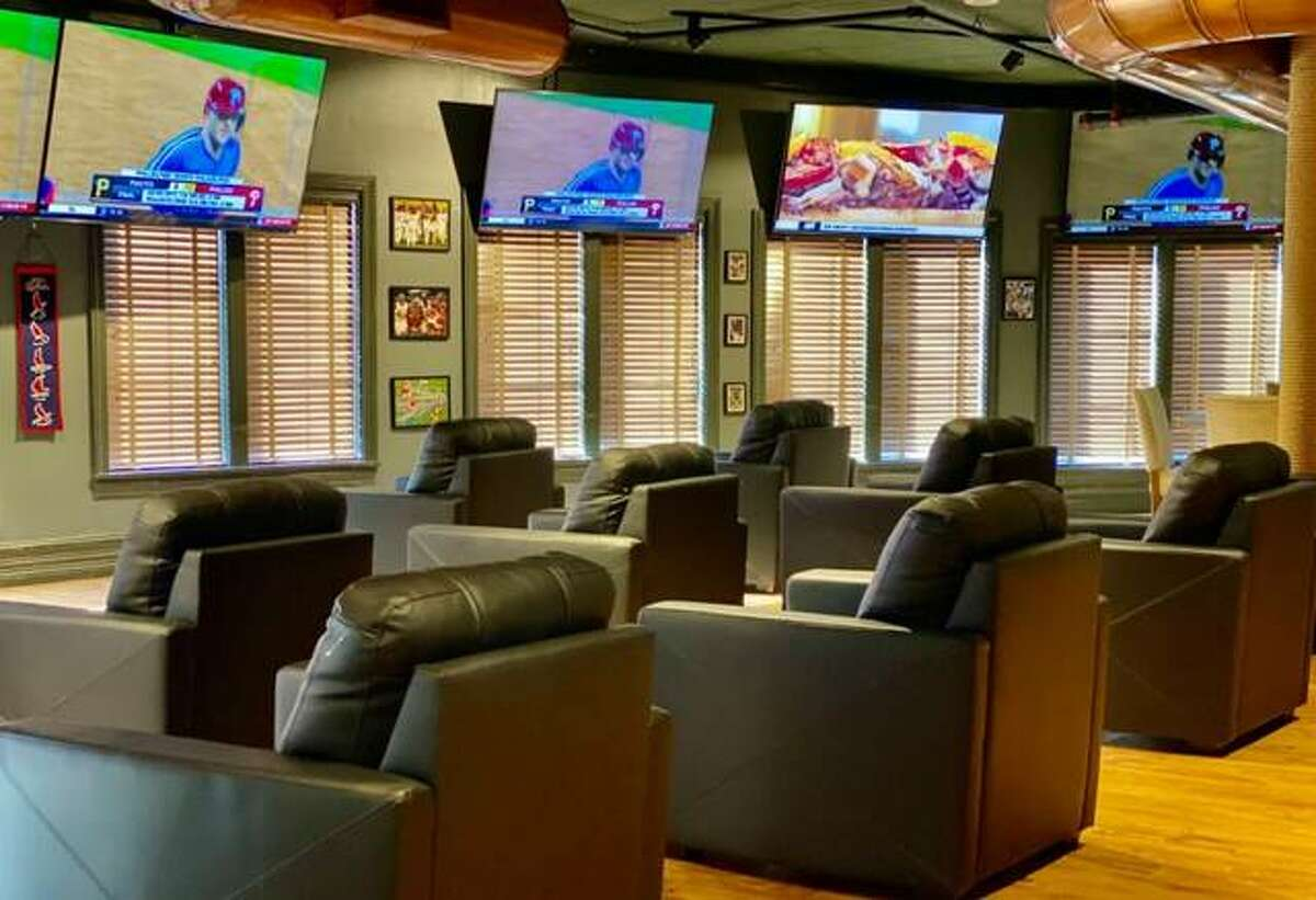 Argosy Casino Alton has opened its sports lounge. State figures show sports wagers in Illinois again rose in August, leading gaming experts to anticipate strong numbers this fall.