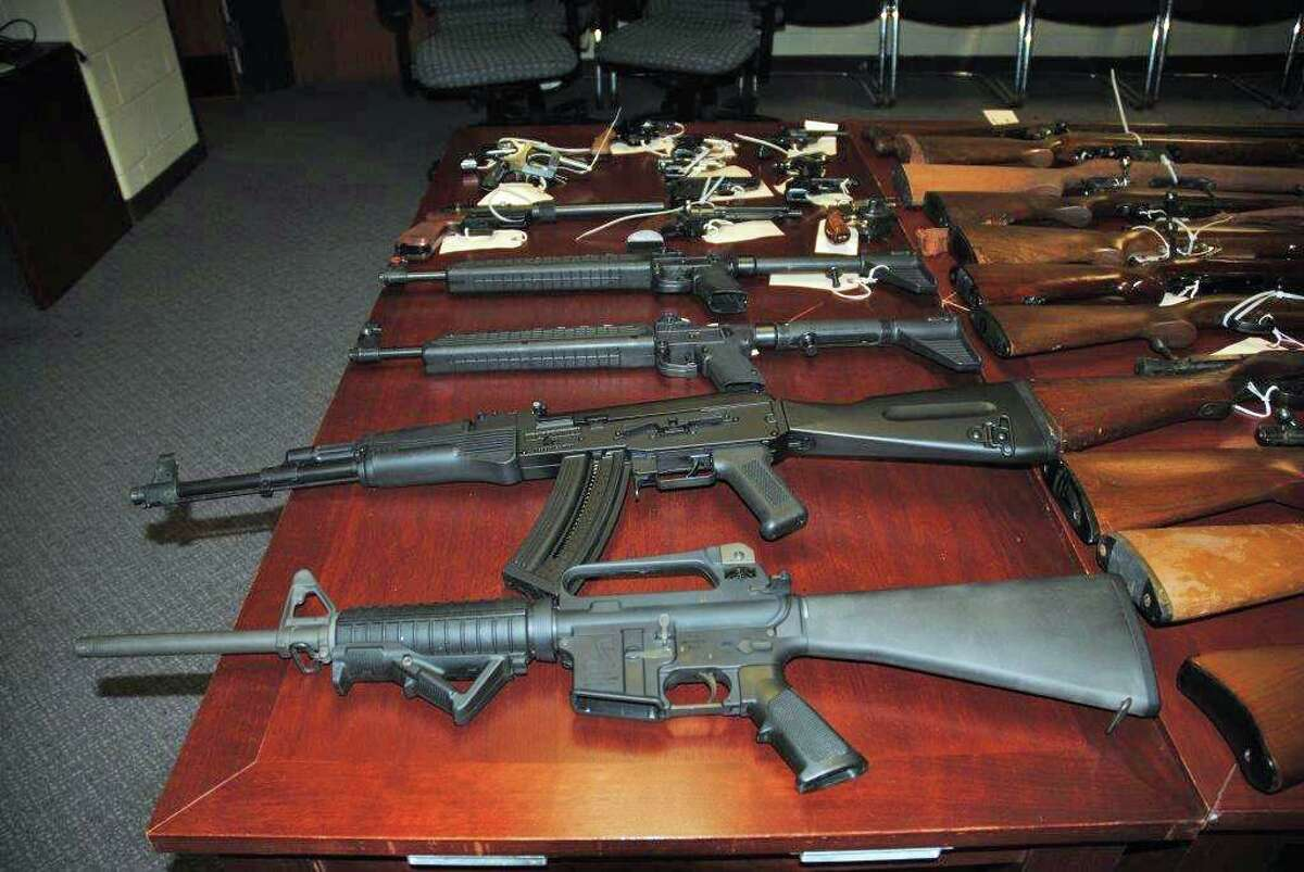 Police are hosting a gun buyback at the Stamford Police Department, and other departments in the state, on Saturday, Oct. 16, 2021.