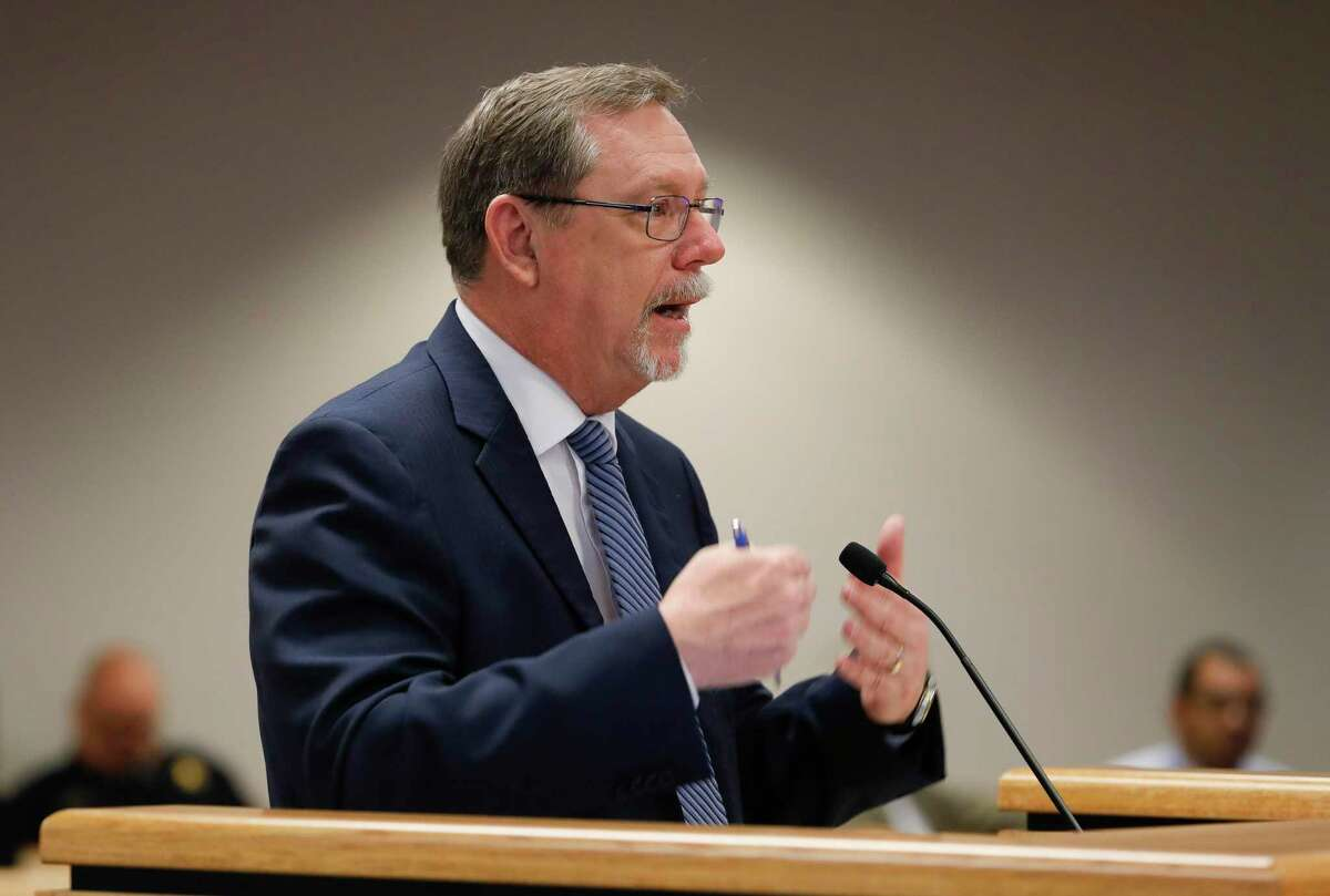 Montgomery County Attorney B.D. Griffin, seen in this file photo, said there are some time restraints in analyzing commissioner precincts. With new census numbers continuing to show Montgomery County's strong growth, county officials are tackling the process that could realign commissioner precincts potentially giving some residents new representation.