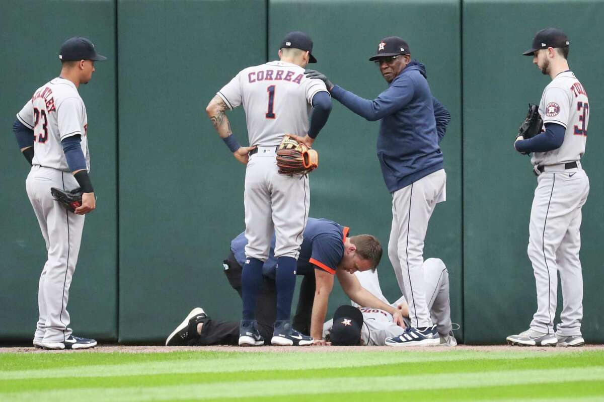 Carlos Correa, watching Jake Meyers get attended to, later persuaded the rookie outfielder to depart Tuesday's Game 4 if he couldn't contribute at 100 percent.