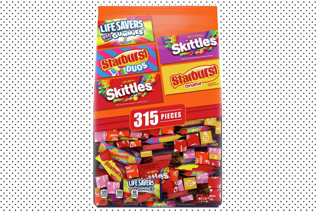 Six pounds of Halloween candy - $19.99 at Amazon.