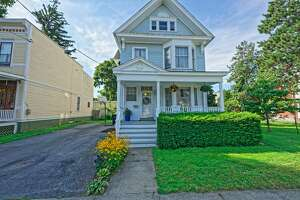 This week's house is a spacious home at 4 Summit Ave. near Frear Park in Troy. Built in 1890, the house is along a cul de sac. It has four bedrooms, two bathrooms and 2,778 square feet of living space. There are bay windows on the first and second floors as well as two gas fireplaces. The upstairs is currently set up as a large office space and two bedrooms. Highlights include pine floors with a warm patina, sets of stairs at the front and back of the house and parking space for three vehicles. Troy schools. Central air. .26-acre lot.. Taxes: $8,500. List price: $250,000. Contact listing agent Nina Scher of Hunt Real Estate ERA at 518-368-5578.