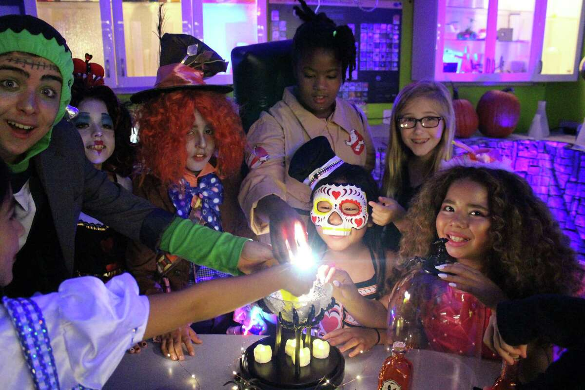 The Fort Bend Children's Discovery Center is kicking off its Halloween Grosstopia that runs Tuesday, Oct.12, through Saturday, Oct. 30.