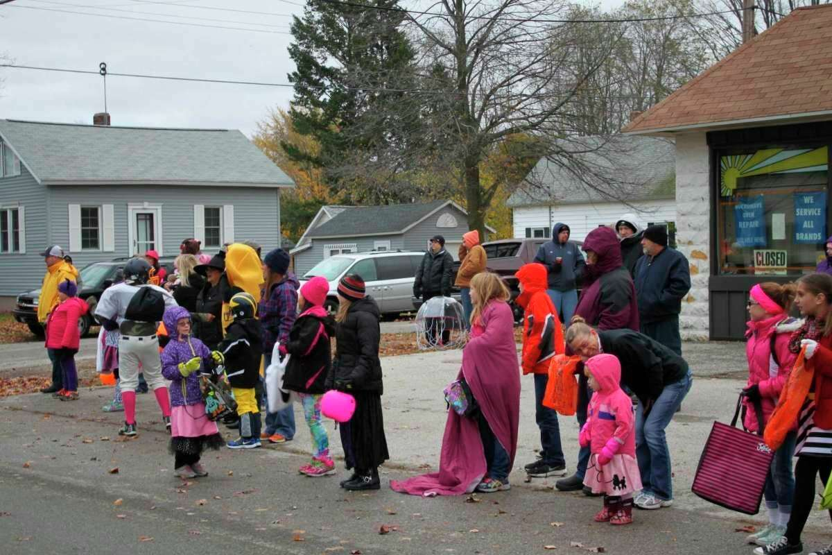 Attendees dress up for the 2014 Halloween parade in Filer Township. Hosted by theFiler Township Fire Department, thislong-running event will return Oct. 31 after being canceled in 2020 due to the pandemic. (File Photo)