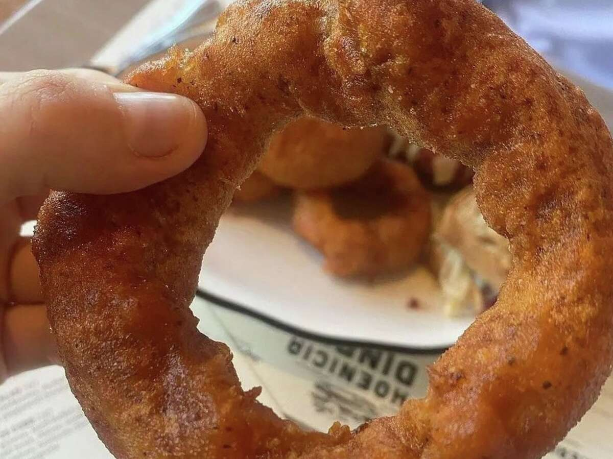 """""""Our onion rings have always been one of the favorites,"""" said Phoenicia Diner director of operations Courtney Malsatzki. Grammy-winning singer Lorde agrees."""