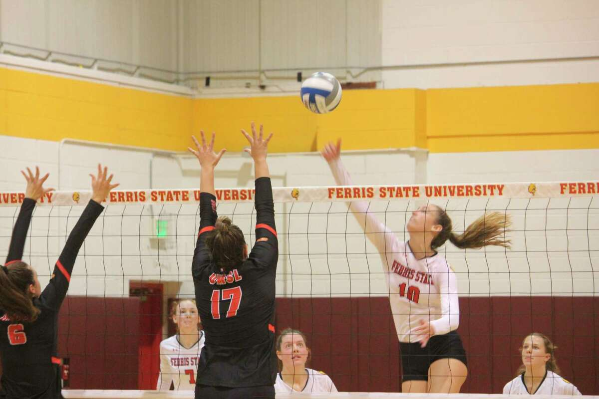 Ferris' volleyball team will be facing some top notch competition this weekend. (Pioneer file photo)