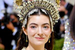 New Zealand singer and onion ring connoisseur Lorde was in New York for the Met Gala on Sept. 13, 2021, as shown here. She posted her Instagram review of Phoenicia Diner's onion rings on Oct. 3.