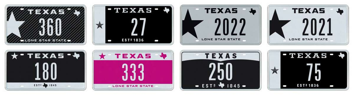 8 Rare Texas Number Plates to be Auctioned