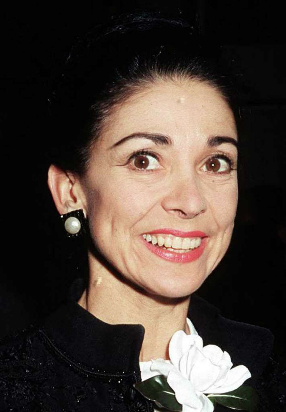 In this Sept. 18, 1968 file photo, British ballerina Margot Fonteyn in London. British ballerina Margot Fonteyn was heavily involved in a plot with Fidel Castro to overthrow Panama's government, previously secret files revealed. (AP Photo/PA, File)