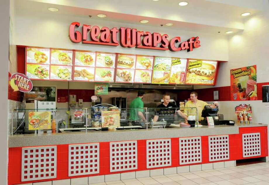 Great Wraps Cafe in the Food Court at Crossgates Mall in Albany, NY, on Monday, Sept. 13, 2010.  (Luanne Ferris / Times Union) Photo: Luanne M. Ferris