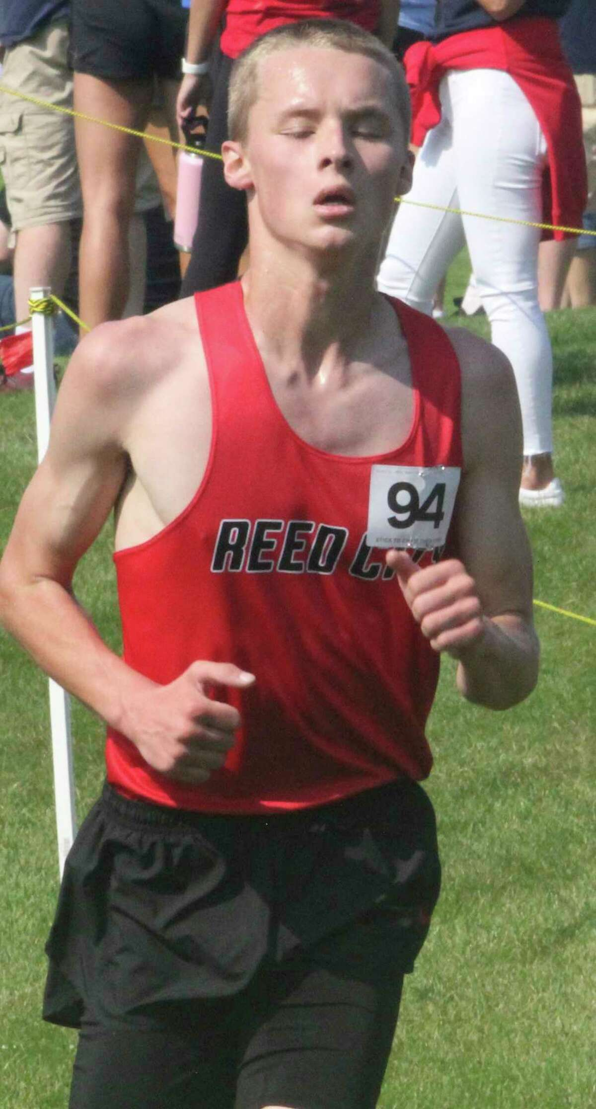 Ryan Allen continues his strong season for Reed City cross country. (Pioneer file photo)