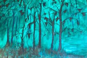 Art by Victoria Conley, now on view at the art exhibit at Asbury Village, 5201 Asbury Lane, in Godfrey.