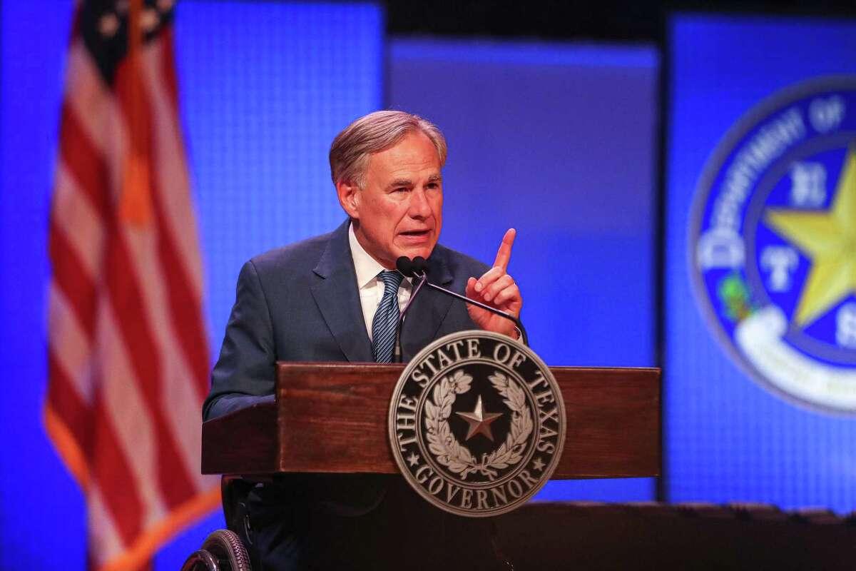 Texas Gov. Greg Abbott. (Aaron E. Martinez/Austin American-Statesman/TNS)