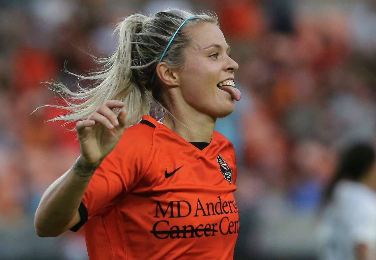 Forward Rachel Daly and the Dash can almost taste the franchise's first playoff berth.