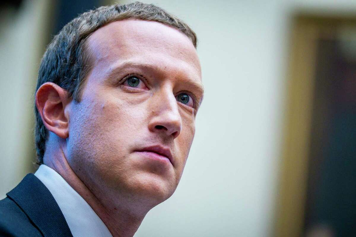 FILE -- Mark Zuckerberg, Facebook's chief executive, testifies before a House committee in Washington on Oct. 23, 2019. Facebook and its family of apps, including Instagram and WhatsApp, went down at the same time on Monday, Oct. 4, 2021, taking out a vital communications platform used by more than three billion people around the world and adding heat to a company already under intense scrutiny. (Pete Marovich/The New York Times)