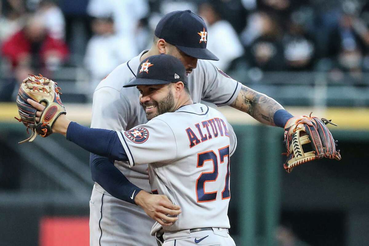 Jose Altuve and Carlos Correa have been linchpins in the Astros making five straight American League Championship Series, the first team to do that since the 1971-75 Athletics.