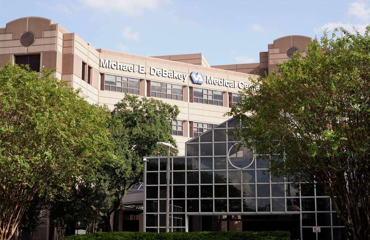The Michael E. DeBakey Veterans Affairs Medical Center, 2002 Holcombe Blvd., is shown Friday, Sept. 17, 2021 in Houston.