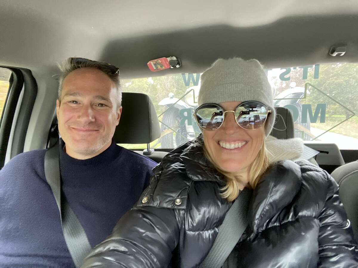 My husband and I made the 90 mile trip from Red Hook, Dutchess County back to Albany in the cab of a tow truck.