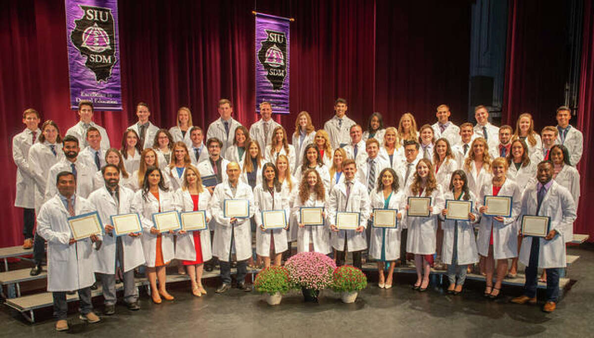 The Southern Illinois University School of Dental Medicine hosted its 20th annual White Coat Ceremony on Friday, Oct. 8 in the Hatheway Cultural Center at Lewis & Clark Community College in Godfrey.