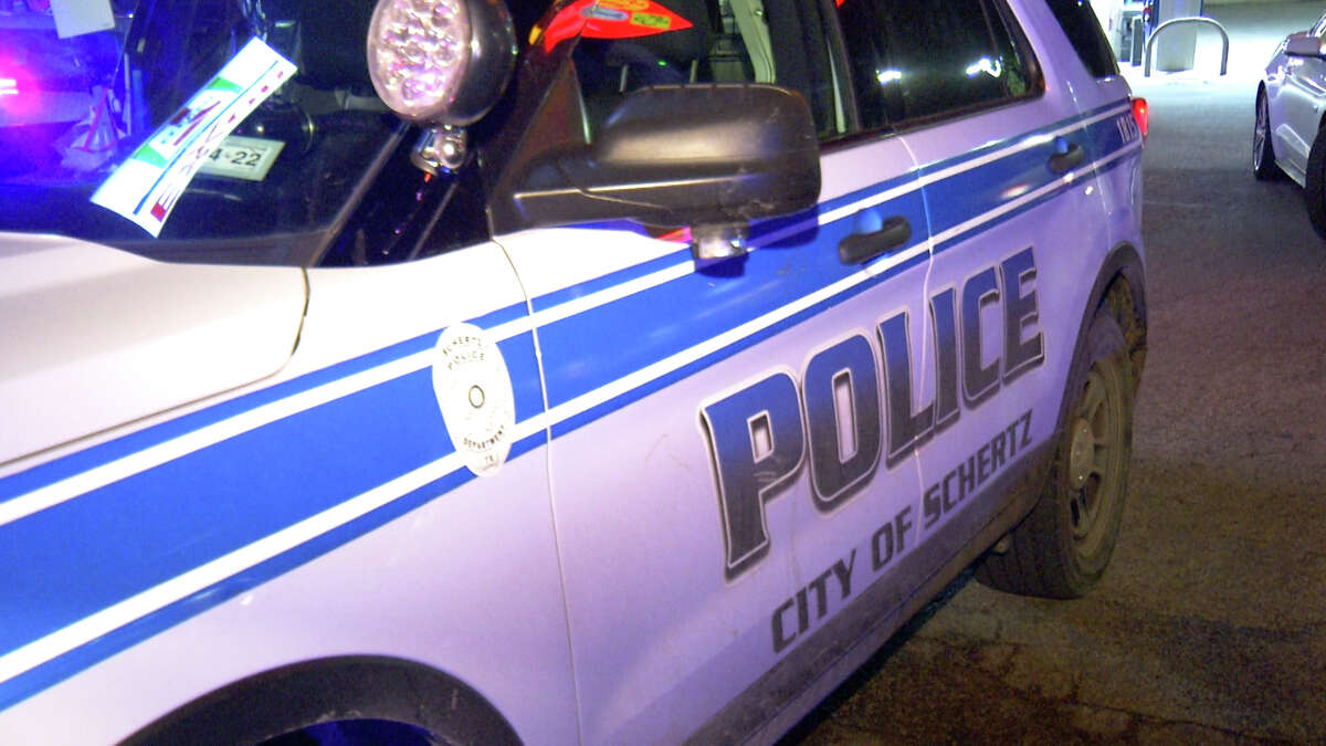 Schertz police are searching for a suspect after a teenager was found lying in the middle of the street on the I-35 access road on Oct. 13, 2021.