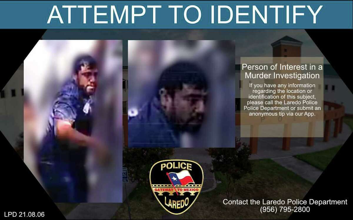 Laredo police said they need to locate this man in relation to a homicide that occurred in August in north Laredo.