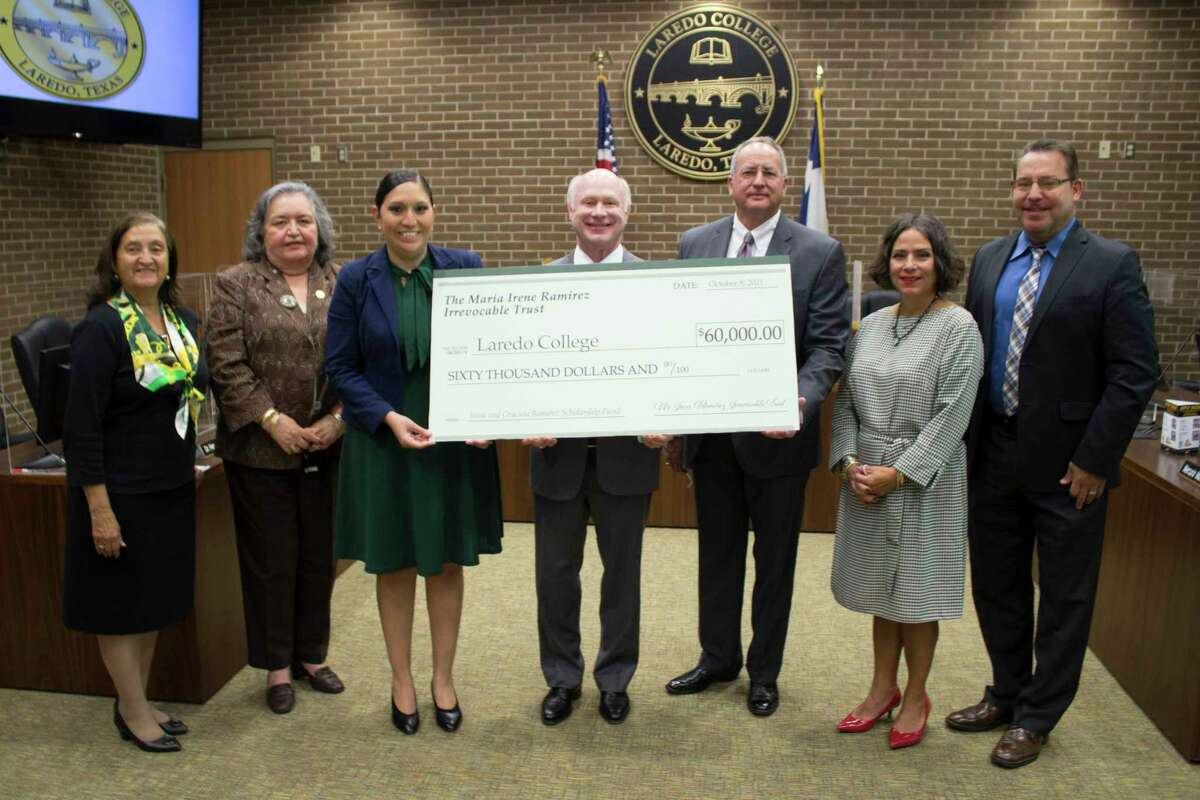 Officials from Laredo College announced on Tuesday the establishment of the Maria Irene Ramirez Irrevocable Trust, which will establish a scholarship fund to assist students with tuition, fees, books and other college expenses.