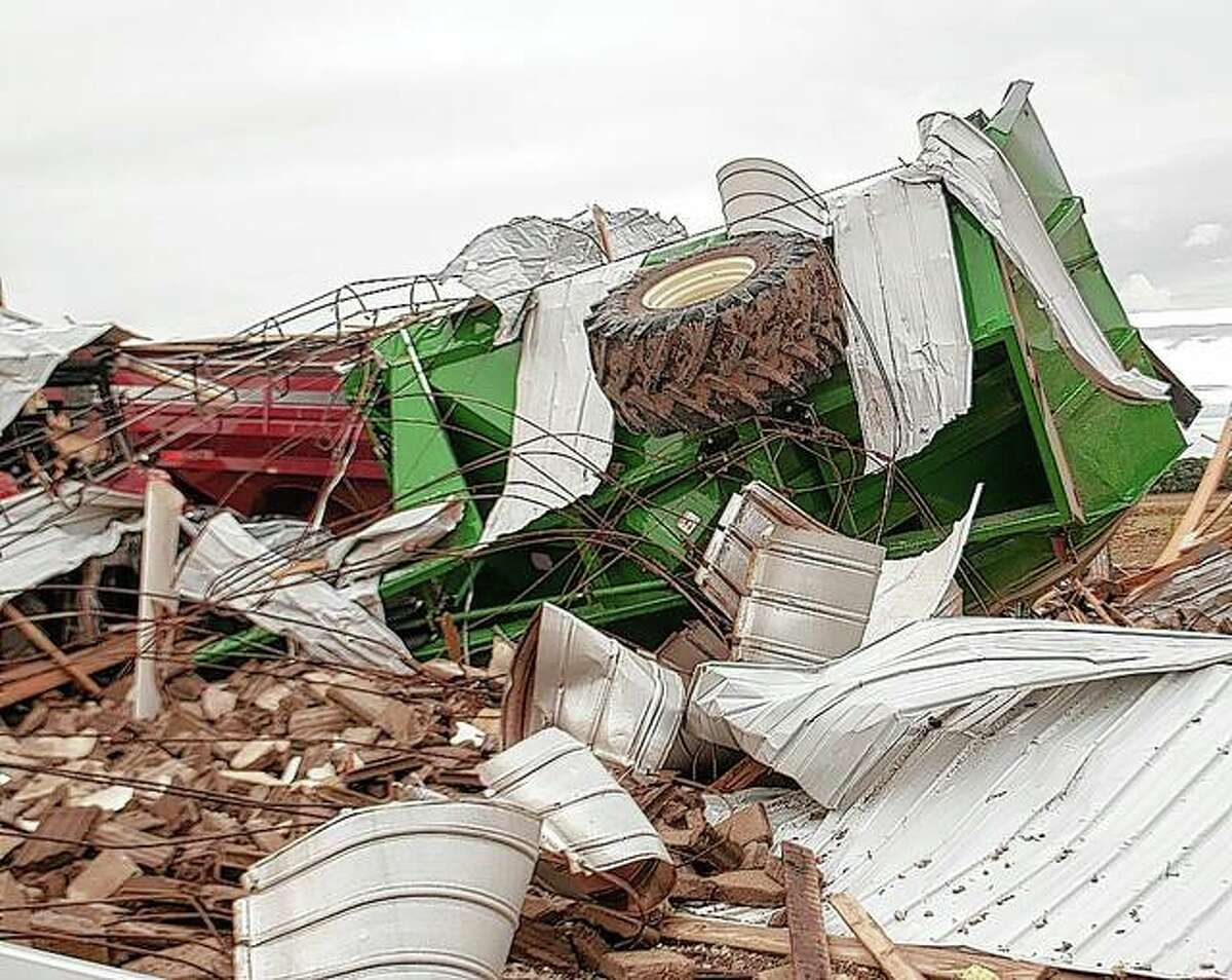 The National Weather Service in St. Louis was collecting data Tuesday to determine the strength of the tornado that touched down Monday afternoon in Wrights. No other damage in Greene County or elsewhere in the service region was reported.