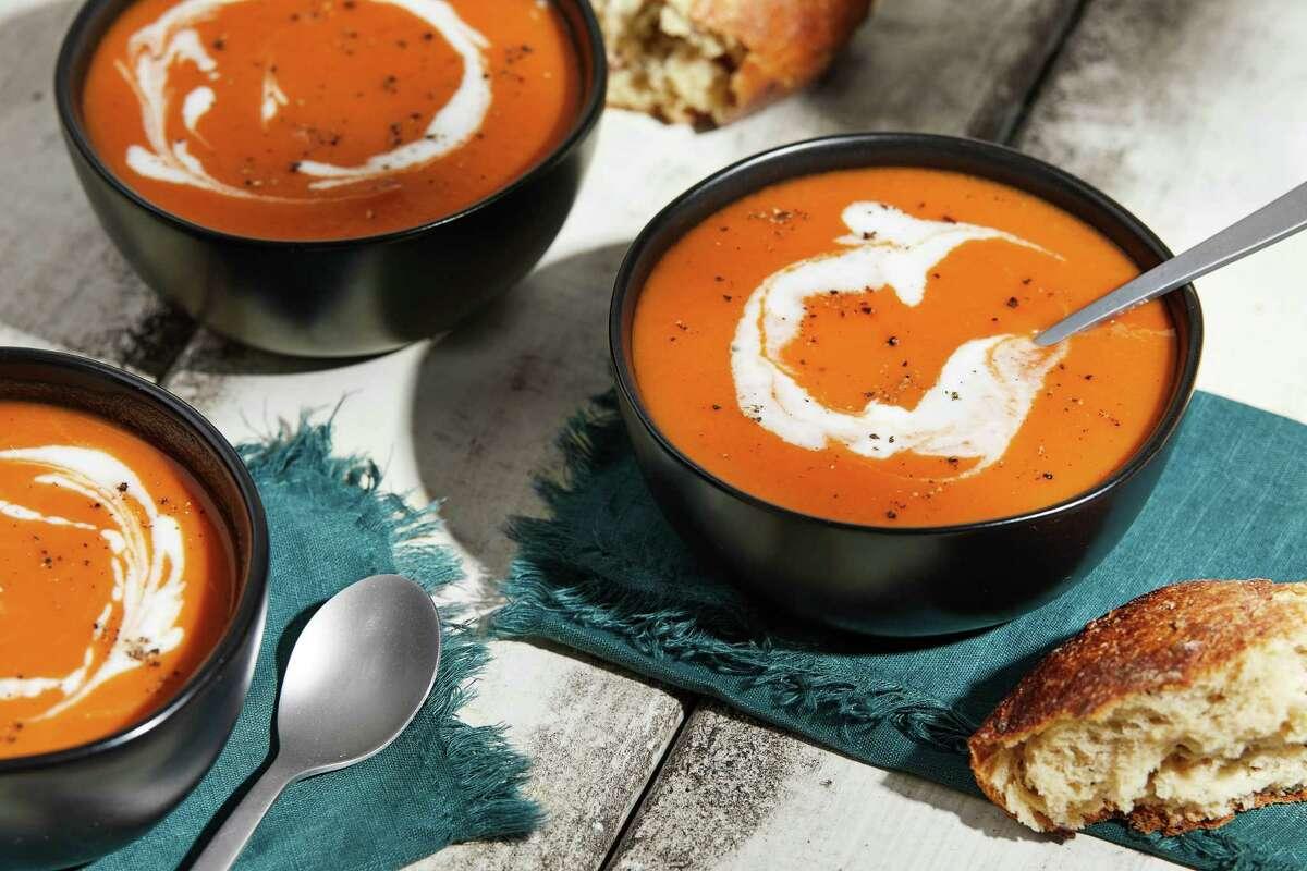 Creamy Tomato Pumpkin Soup