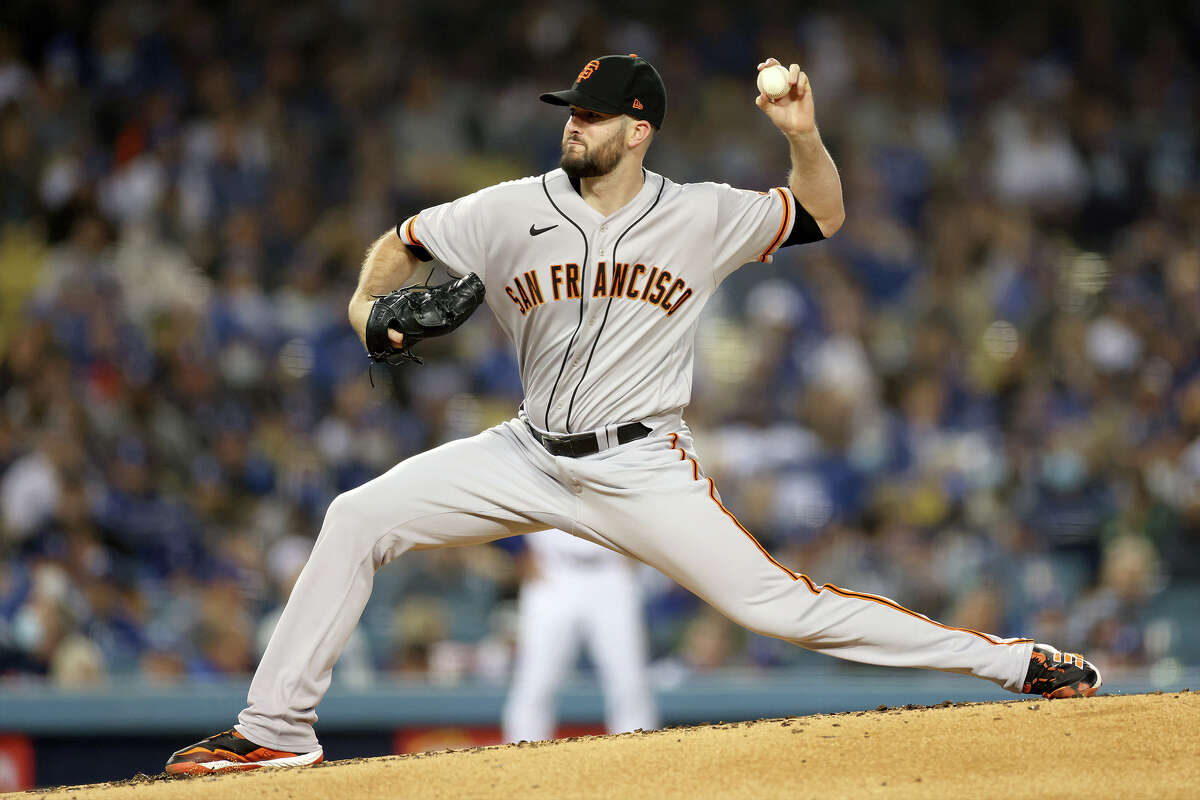 Los Angeles Dodgers at San Francisco Giants: NLDS Game 5