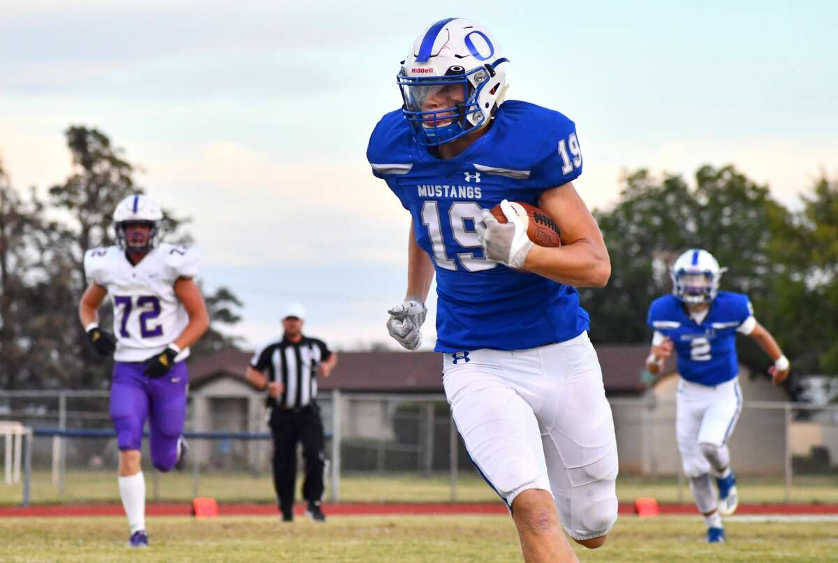 Brennon Huguley and the Olton football team will try to get their first District 1-2A Division I win this week against Boys Ranch.