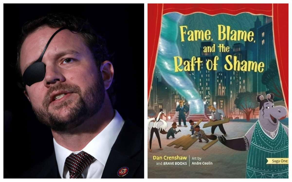 """Rep. Dan Crenshaw released """"Fame, Blame and the Raft of Shame"""" a children's book that explores the dangers of cancel culture."""