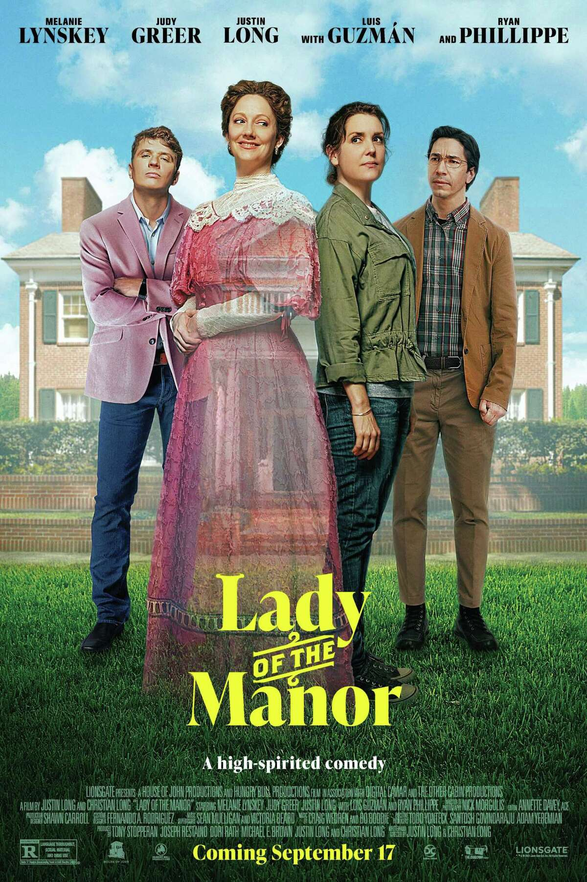 """Movie poster for the film """"The Lady of the Manor."""" (Lionsgate/TNS)"""