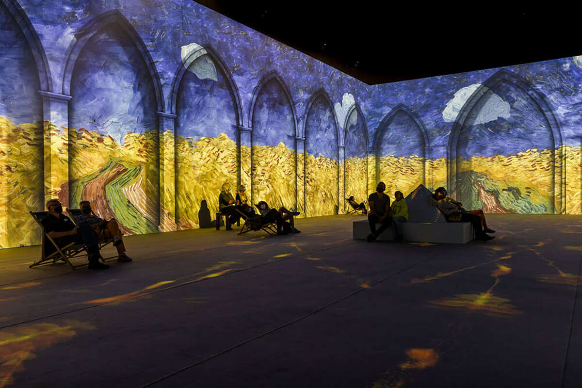 Van Gogh Immersive Experience opened a 23,000 square feet location in the MarqE shopping center.