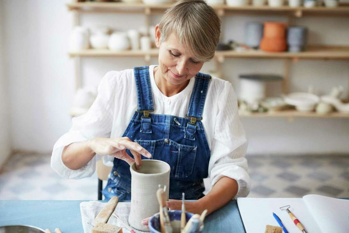A pottery workshop for adults is scheduled to take place at the Ludington Area Center for the Arts pottery studio on Oct. 14. See what other activities are going on in the area. (Courtesy photo/Getty Images)