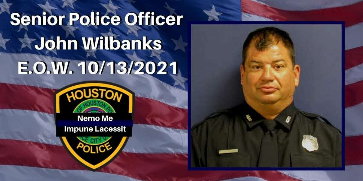John Wilbanks, an officer with Houston Policefor over 25 years.