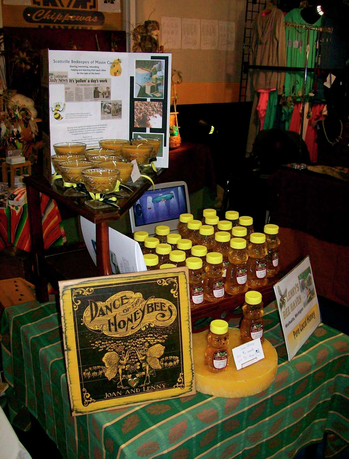 Attendees of the Sweet Taste of Mason County on Saturdaywill be able totry samples and buy their favorites directly from the beekeepers who've tended their hives throughout the season. (Courtesy photo)