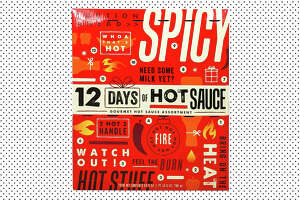 12 Days of Hot Sauce Advent Calendar