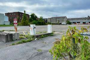 A view of the lot located at 222 South Ferry St., seen here on Wednesday, Oct. 13, 2021, in Schenectady, N.Y.