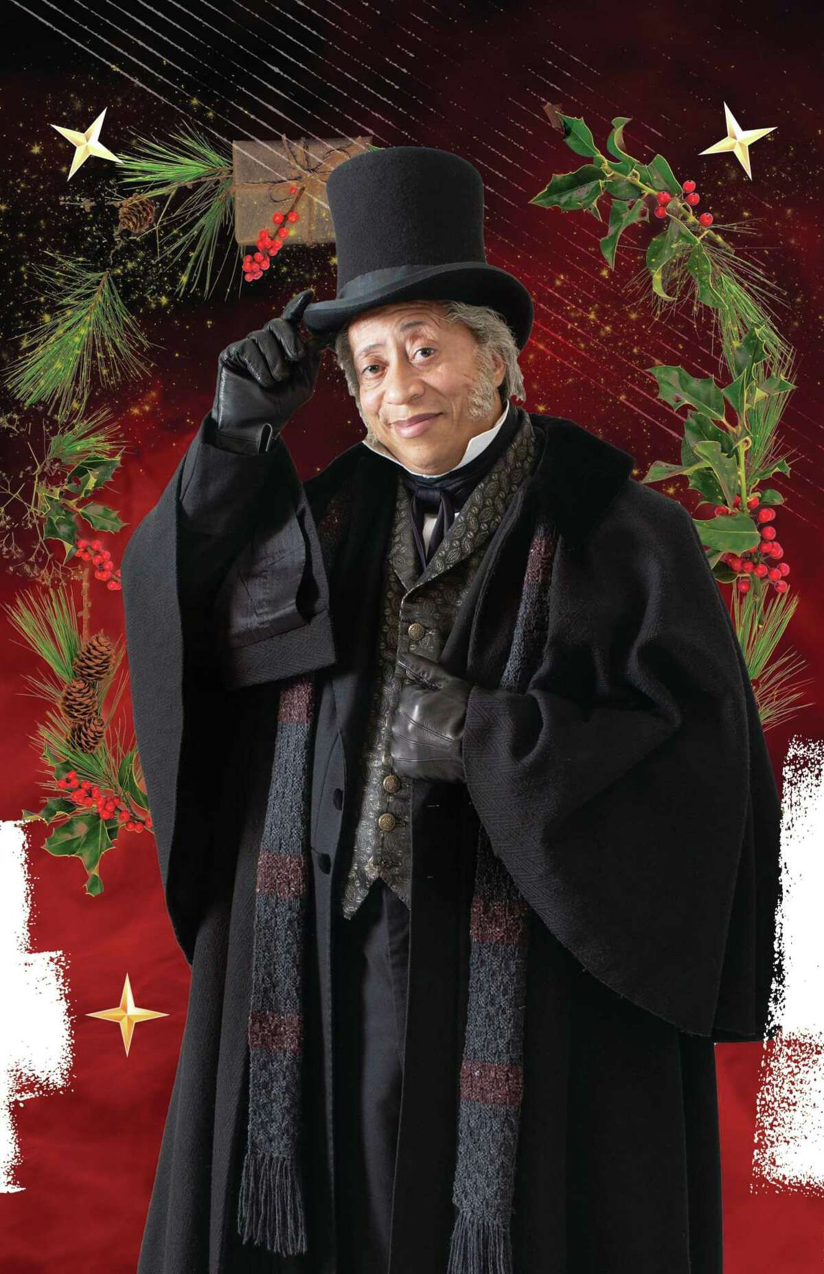 """Rainey will reprise his role as Ebenezer Scrooge this year at the Alley Theatre in Doris Baizley's adaptation of Charles Dickens' """"A Christmas Carol."""""""