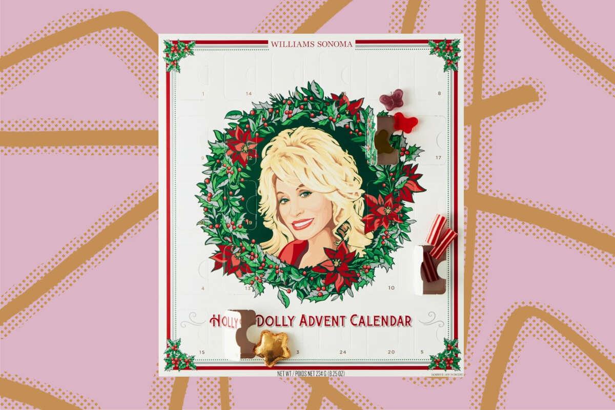 Dolly Parton Advent Calrndar, $39.95 at Williams Sonoma