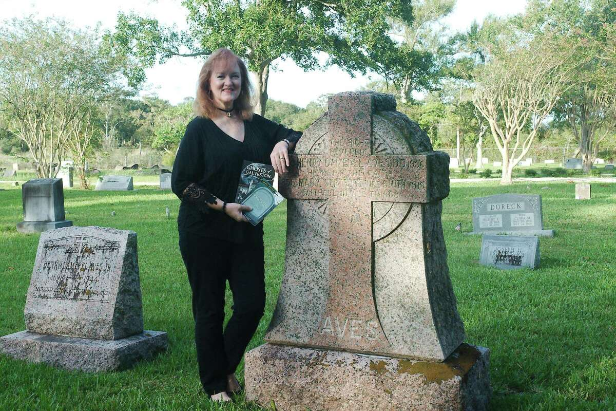 """Bay Area author Kathleen Maca says that sites such as the historic Seabrook Cemetery have always fascinated her. There's a story behind every stone,"""" she says. She's also interested in ghost stories, which she says have elements of history, mystery and the unexplained that draw a response from people."""