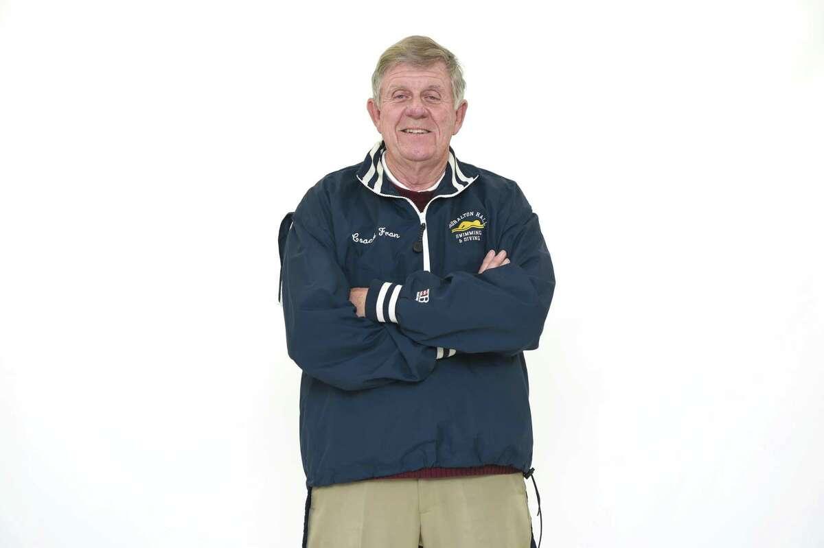 Former Lauralton Hall swimming coach Fran Pfeiffer.