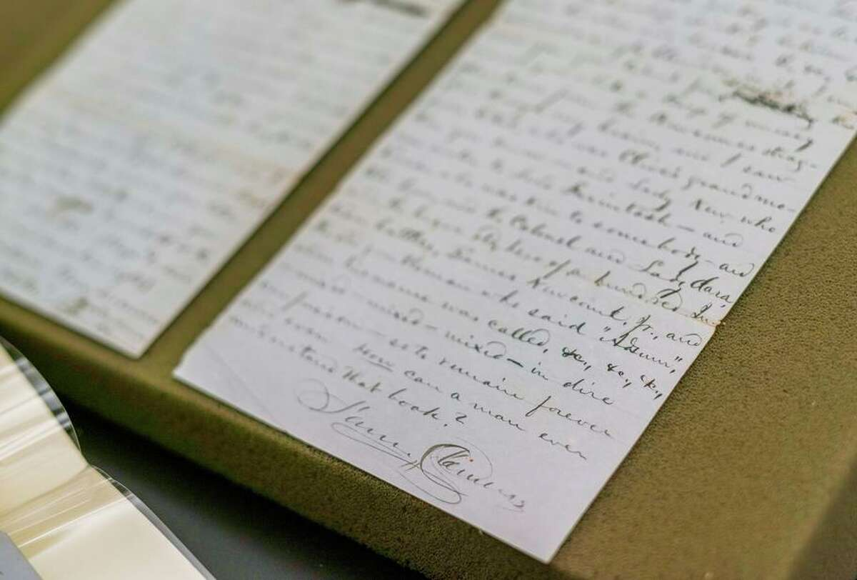 A letter, written by Samuel Clemens in 1861, was recently acquired by the Bancroft Library's Mark Twain Papers & Project.