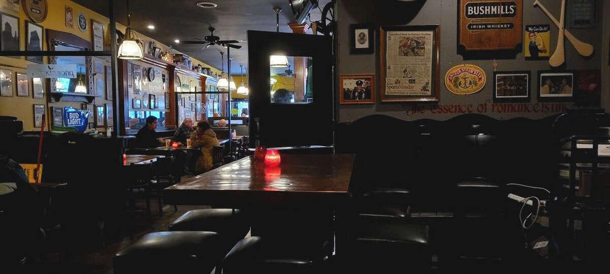The interior of Phoenix Irish Bar in the Mission, in San Francisco, Calif.