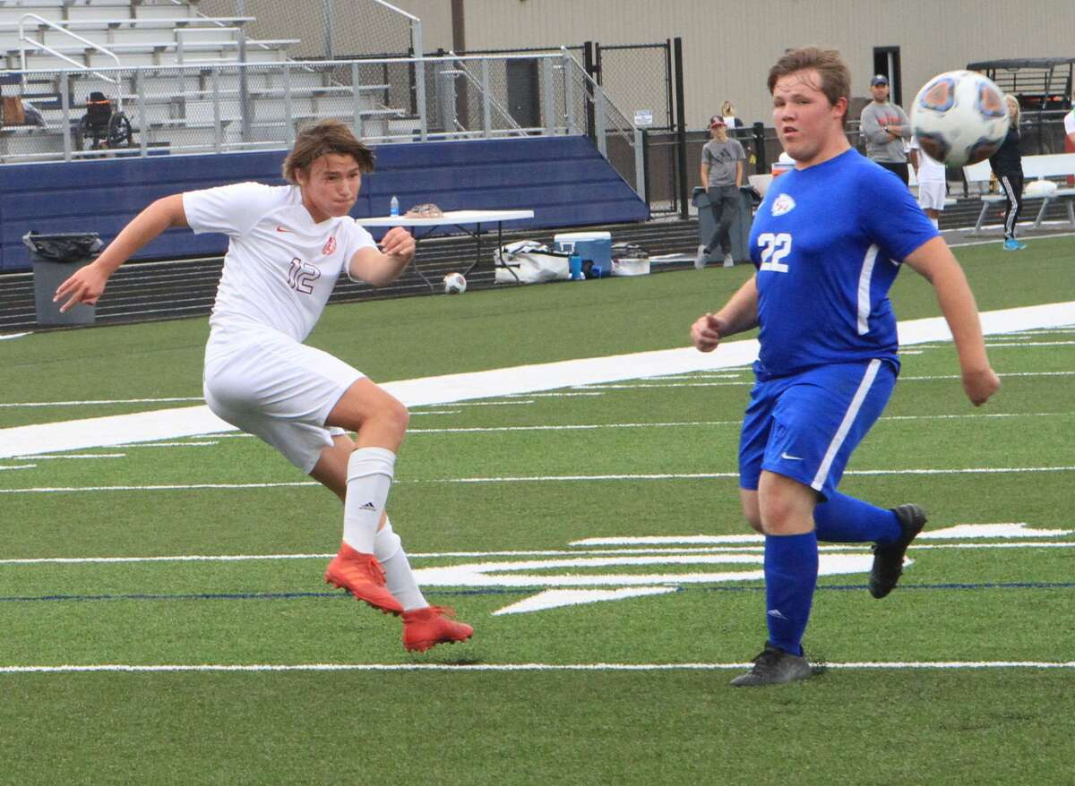 The Big Rapids soccer team defeated Chippewa Hills 8-0 in the opening round of the district tournament.