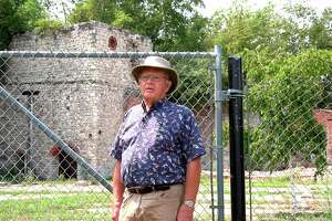 Jerry Heiman, local historian, narrates a virtual history tour of the South Frankfort Ironworks. (Courtesy Photo)